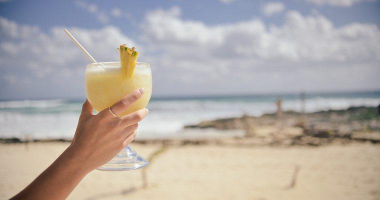 Ingwer-Ananas-Drink