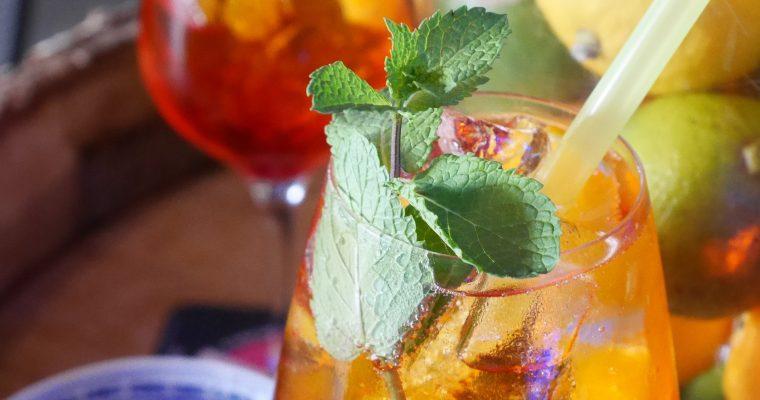 Aperol Hibiskus Limonade