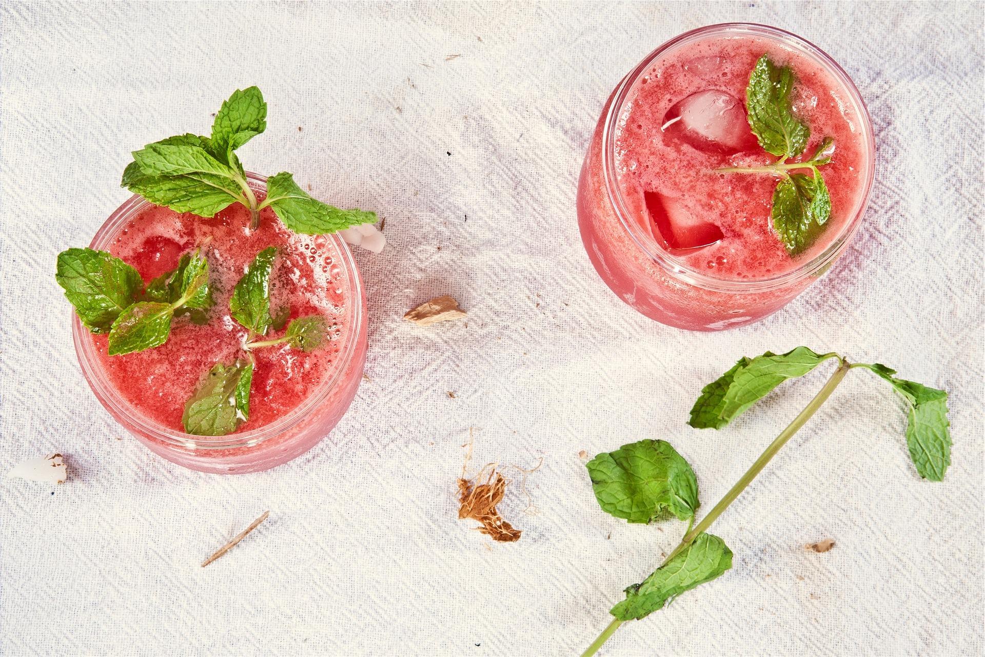 Fruchtiger Erdbeer-Mojito