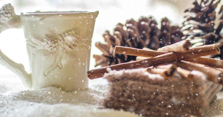 Lebkuchen-Granita mit Prosecco